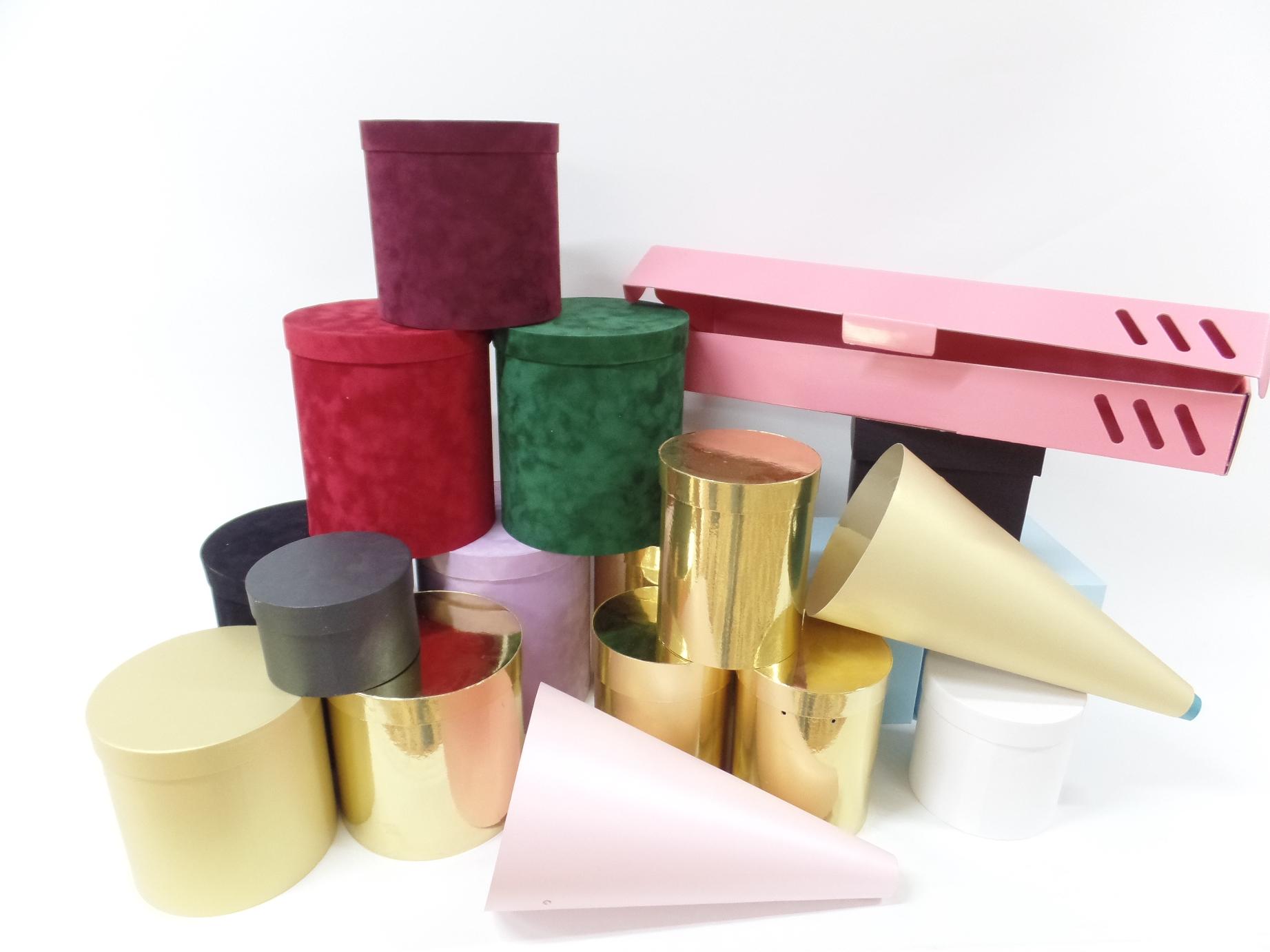 Коробки для цветов фото